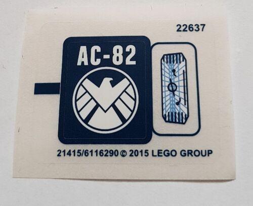 GENUINE LEGO sticker sheet only MINT SPLIT FROM SET 76036 shield ac-82