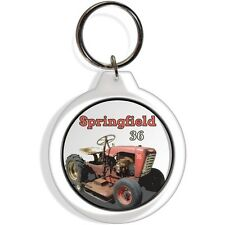 Springfield Garden Farm 36 Tractor machine Keychain Key Chain Ring