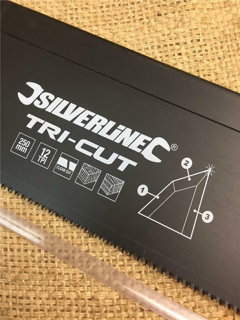 Triple Ground Teeth Forward /& Reverse 310mm 7tpi Tri-Cut Keyhole Slim Wood Saw