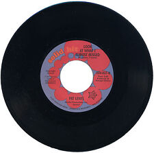 "PAT LEWIS  ""LOOK AT WHAT I ALMOST MISSED c/w NO ONE TO LOVE""   MONSTER   LISTEN!"