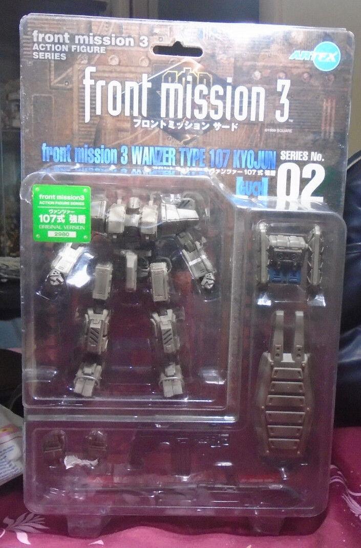 Front Mission 3 verkan Figur serier nr.02 Kootobukiya Mint i Factory Seal RARA