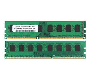 New-4GB-2X-2GB-DDR3-PC3-12800-1600MHz-DIMM-Desktop-Memory-RAM-Only-AMD-CPU-CL11