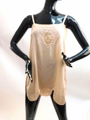 Vintage 1930s silk teddy