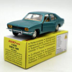 Atlas-Dinky-Toys-1409-SIMCA-1800-Pre-Serie-Diecast-models-car-1-43
