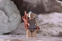 Lego Mini Figure Hobbit Hunter Orc with Bow and Quiver Lord of the Rings
