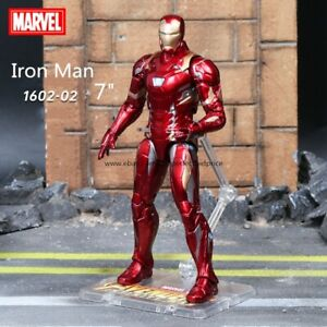 New-Iron-Man-Marvel-Avengers-Legends-Comic-Heroes-Action-Figure-7-034-Kids-Toys