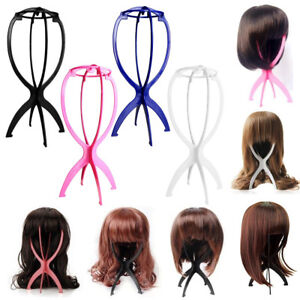 Pink Plastic Wig Stands Cosplay Long Hair Mannequin ...