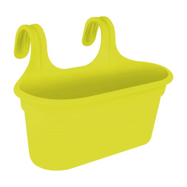 Elho Verde Basics Facile Appendiabiti Grande Balcone Vaso di Fiori Lime