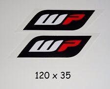 WP Suspension Aufkleber -LAMINIERT high quality Sticker MotoGP Gabel Stoßpämpfer