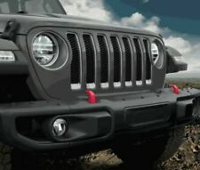 2018-2019 Jeep Wrangler Front Bumper End Caps Extender MOPAR OEM JL