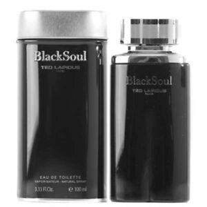 a263d20872 Black Soul By Ted Lapidus Eau De Toilette 3.3 OZ For Men NEW ...