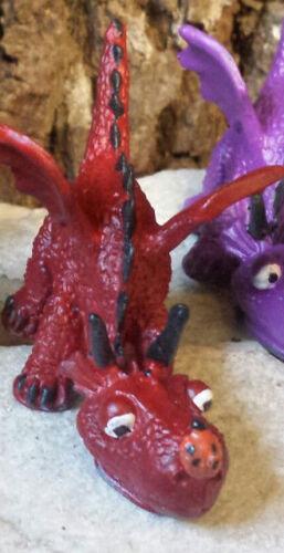 Miniature Fairy Garden Dragon Playing with Ladybug