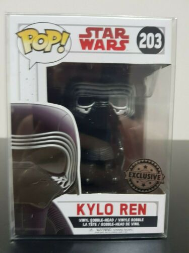 Kylo Ren Star Wars Funko Pop 203 The Last Jedi No