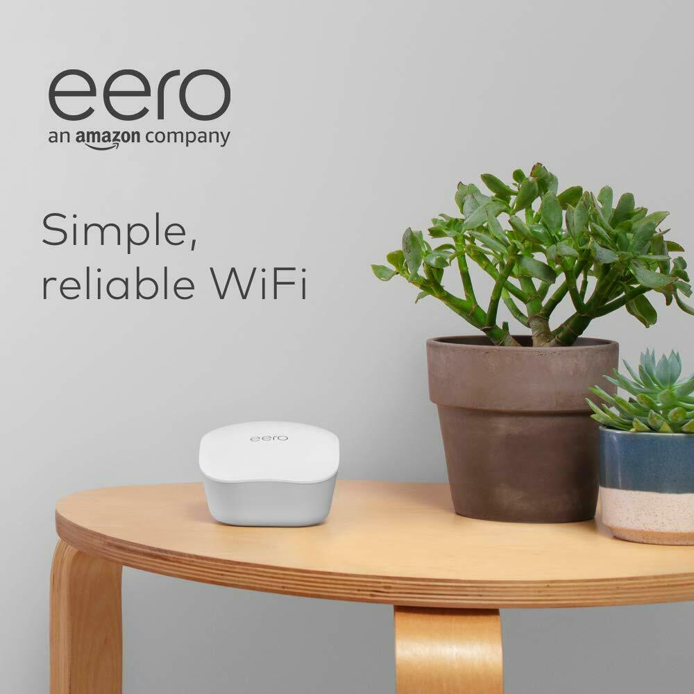 EERO WIFI SYSTEM AC DUAL-BAND MESH WI-FI SYSTEM | 1 Piece | J010001. Buy it now for 69.00