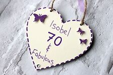 70th Birthday Gifts For Women Wife Sister Friend Personalised Her Present 80