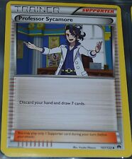 Professor Sycamore 107/122 XY Breakpoint Set Pokemon Card Trainer Supporter MINT
