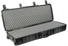 Seahorse SE1530F Black Gun case. With Pluck foam Includes Pelican 1720 Lock