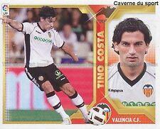 N°10 TINO COSTA # ARGENTINA VALENCIA.CF STICKER PANINI CROMO LIGA 2012