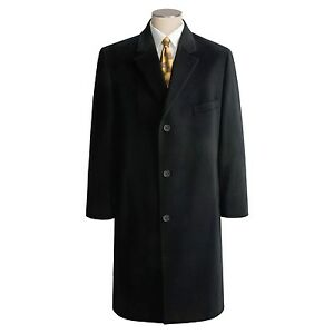 592a808da07 RALPH LAUREN !!!! MENS 100 % CASHMERE TOP COAT !!!! ( BLACK ) 36R