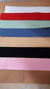 45mm-1-3-4-034-Quality-Elastic-white-black-pink-red-green-blue-amp-cream-FREE-P-amp-P