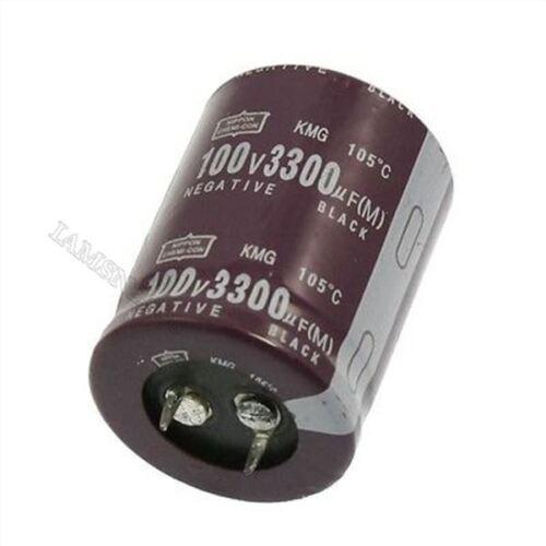 Elektrolytkondensator-Kunststoffgehäuse 3300Uf 100V 105 Grad Celsius Aluminiu ec