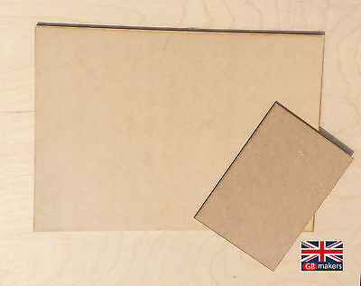 MDF Sheets A5 A4 A3 500mm^2 3mm 6mm Wooden Wood Board Sheet Boards plywood
