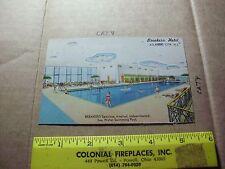 New Jersey Atlantic City Breakers Hotel Interior Swimming Pool people bathing su