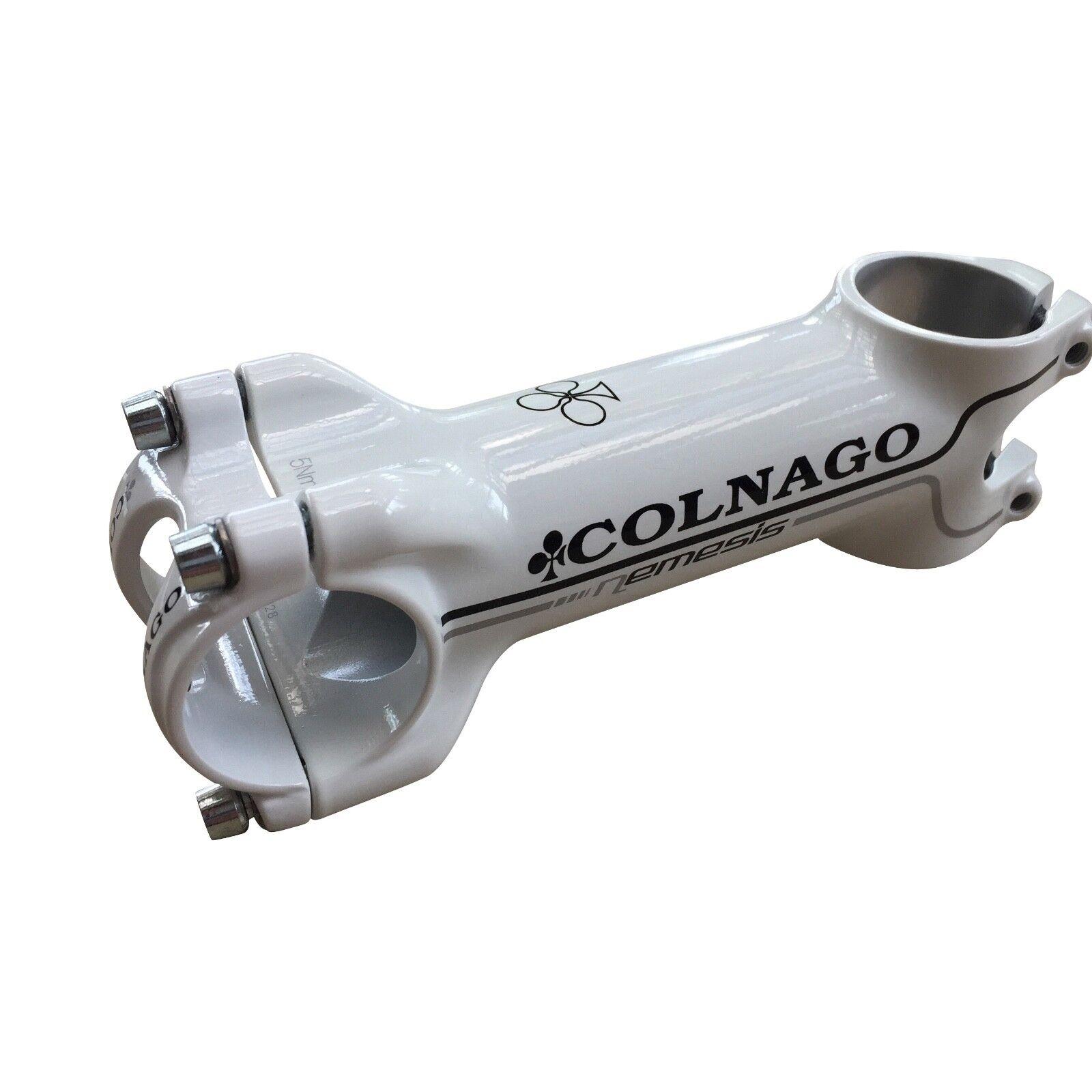 Black or White New Colnago Nemesis Road Bike Stem 90, 100, 110 or 120mm