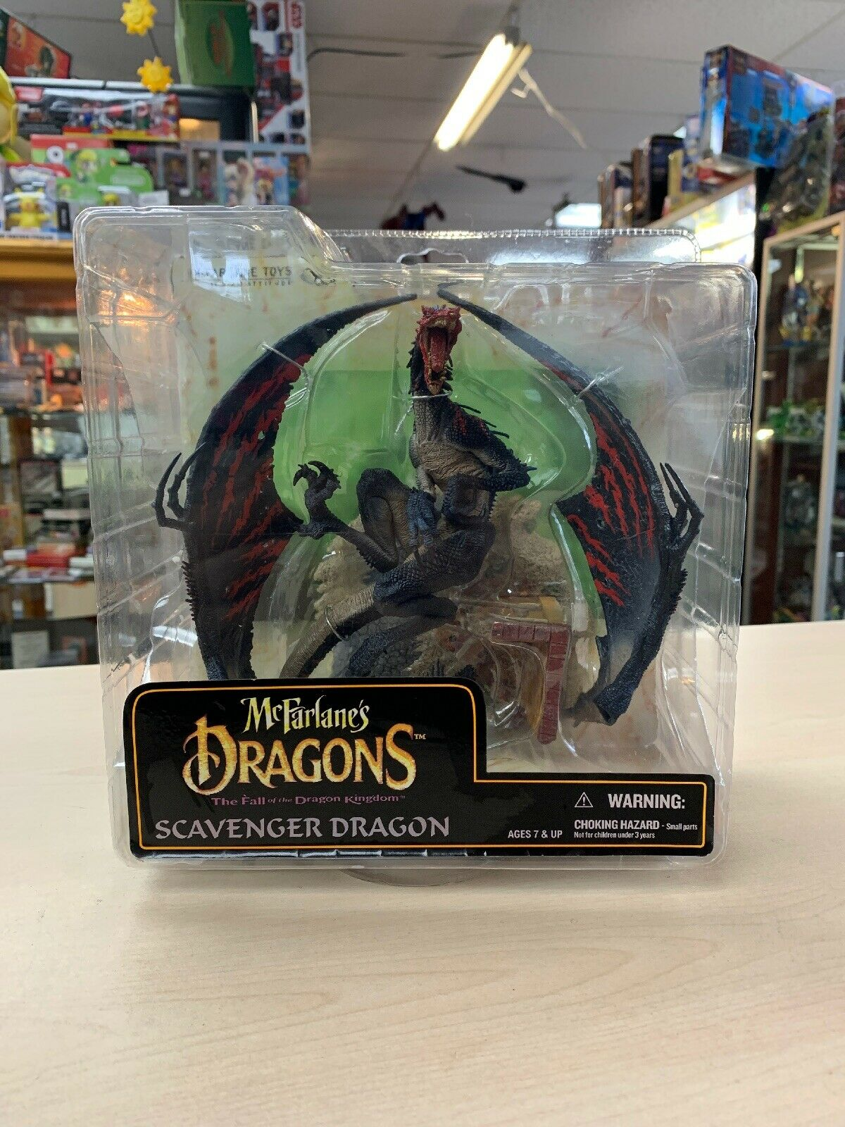 McFarlane's Dragons  Scavenger Dragon The Fall of the Dragon Kingdom A25
