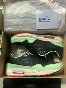 Details about Nike Air Max 1 FB BLACK FRESH MINT GREEN PINK FLASH WHITE YEEZY 579920 066 Sz 11