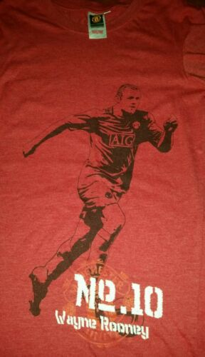 MANCHESTER UNITED TOP SZ S.WAYNE ROONEY NO 10