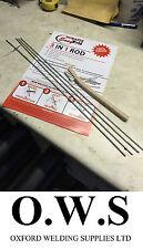 4 x de Aluminio de Soldadura Soldadura Soldadura Baja Temperatura Durafix Easyweld + Varillas + Pincel