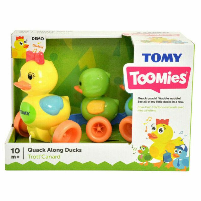 E4613 Tomy Quack Along Ducks