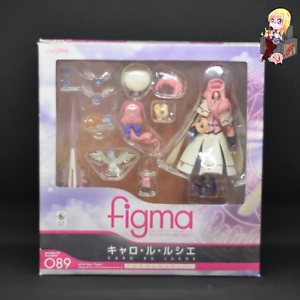 MAX FACTORY Figma 089 Caro Ru Lushe Magical Girl Lyrical Nanoha Japan Import