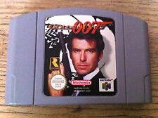 GOLDENEYE 007 PAL N64 NINTENDO 64 JAMES BOND GOLDEN EYE TESTED WORKING RARE