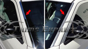 fits-05-10-Chrysler-300-300C-Front-Window-Wind-Shield-Deflector-Trim-Stainless
