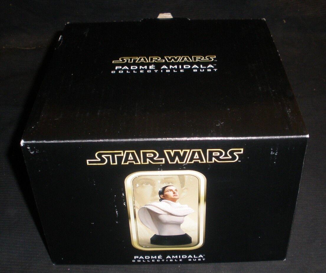 Estrella Wars Padme Amidala Coleccionable Busto Gentle Giant  162 2500 Como Nuevo