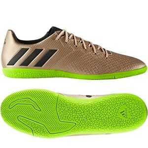 Details about adidas 17.3 IN Messi 2017 Indoor Soccer Shoes Copper - Green - Black Brand New