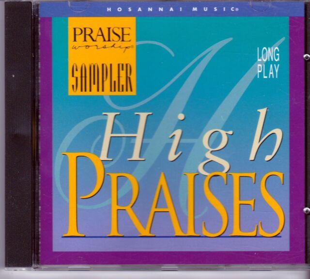Praise Worship Hosanna Music HIGH PRAISES SAMPLER CD