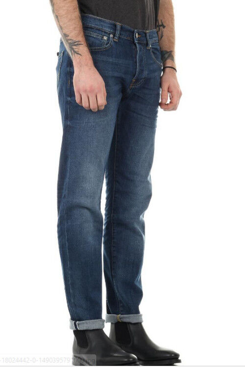 JEANS EDWIN  ED 80 SLIM TAPERED (cs red listed-lido)  W36 L34  VAL