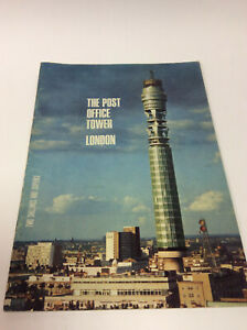 THE POST OFFICE TOWER SOUVENIR BROCHURE 1969 - FREE UK POSTAGE