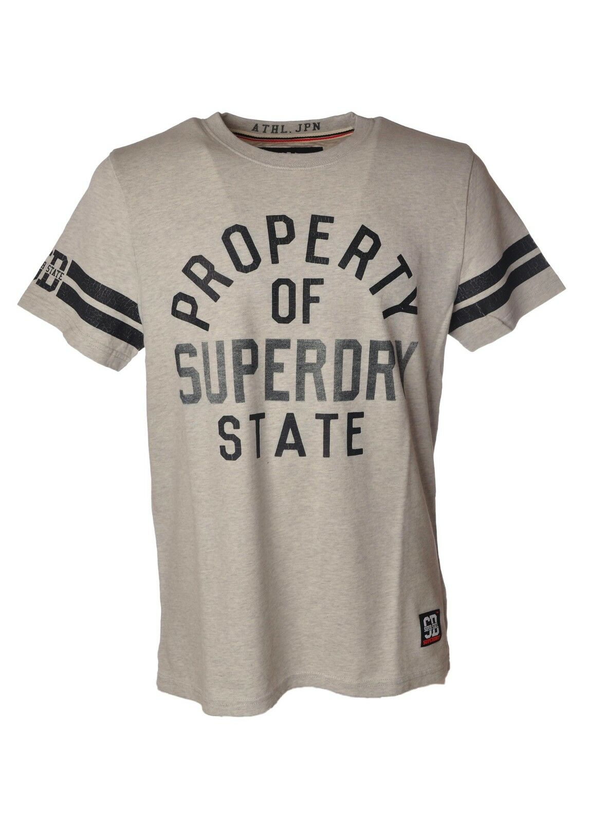 Superdry - Topwear-T-shirts - Mann - Grau - 3830403N184246