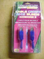 Cable Croisé Rj45 Rj45 Male Male Blindé 3 Mètres /bb9