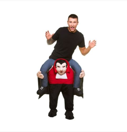 Mens Halloween Shoulder Carry Me Piggy Back Ride On Adult Fancy Dress Costume