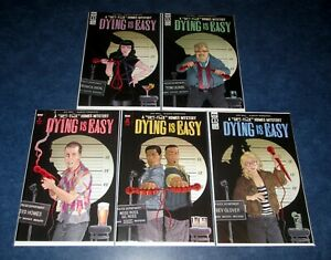 DYING-IS-EASY-1-2-3-4-5-1st-print-A-set-JOE-HILL-Martin-Simmonds-IDW-COMIC-2020
