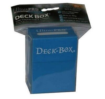 DECK BOX PORTA MAZZO Clear Blue Azzurro MTG MAGIC Ultra Pro
