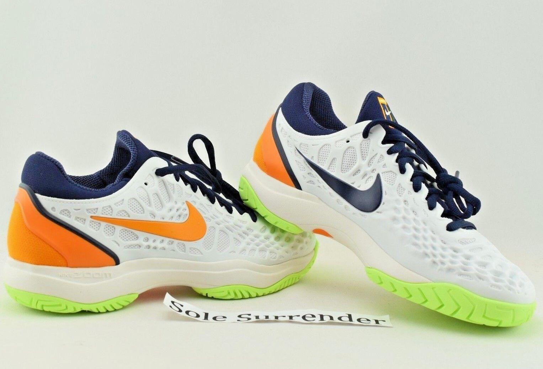 Nike air zoom gabbia 3 hc hc 3 scegliere taglia 918193-180 rafa nadal molto corte arancione b53204