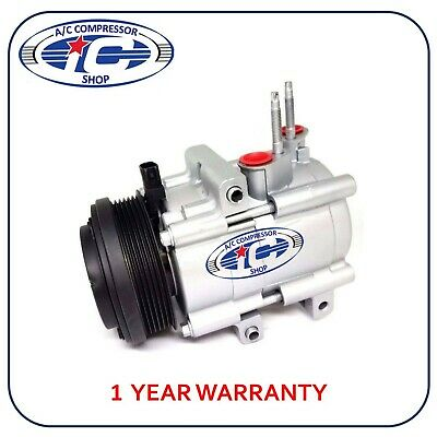 1yr W Super Duty Reman AC Compressor 67198 Fits Mustang E-Series Econoline