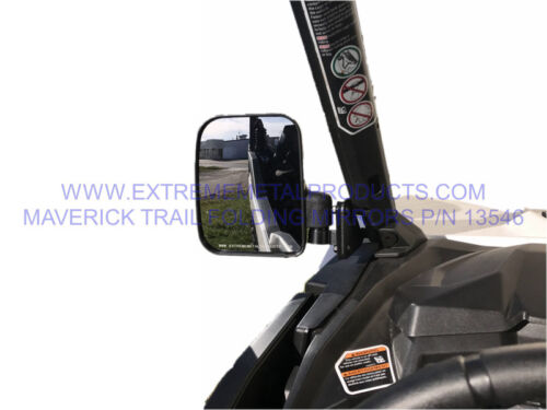 Can-Am Maverick Trail Folding Side Mirrors P//N 13546