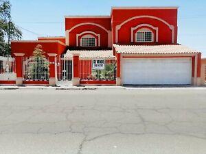 CASA EN VENTA 5 RECAMARAS TERRENO EXCEDENTE COL  PROHOGAR MEXICALI